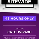 10% off Sitewide for 48 Hours for Club Catch Members @ Catch
