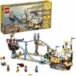 LEGO Creator 3-in-1 Pirate Roller Coaster Playset $59 Delivered @ Amazon AU