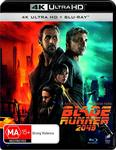 Blade Runner 2049 (4K Ultra HD + Blu-ray) $10.40 + Delivery ($0 Prime/$39 Spend) @ Amazon AU