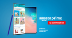 1 Year of Amazon Prime Free with Purchase of a Samsung Galaxy Phone on 1-3 Year Red/Red Plus Plan @ Vodafone