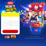 Win 1 of 121 NBL Prizes - Spend $20+ @ Chemist Warehouse