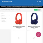 Beats Solo Pro Wireless Noise Cancelling Headphones $271.15 + $5 Donation Per Sale @ Wireless 1