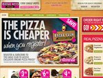 Get Pizza delivered for $5. So order pizza and pay only $5 for del. not $8 like others(do#@*)