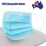 5pcs Disposable Protective Face Masks $7.92 (from $9.90, 20% off) @ REMAX Official AU eBay