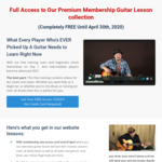 Free Guitar Lessons from Guitar Jamz