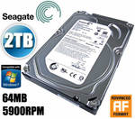 Seagate Barracuda 2TB Green Hard Drive @ CrazySales for  $97.33 + Delivery