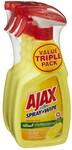 [VIC, WA, NT] Ajax Spray N' Wipe Multi-Purpose Cleaner Trigger 500ml 3 Pack $8 (C&C/ in Selected Stores) @ Big W