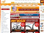 Wiggle.co.uk 20% OFF List Price over 100 Pounds FREE Delivery (Not Bikes) over 50 Pounds