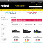 Rebel Sport Shoe Sale 30% Off e.g. Project Rock 2 $139.99 (Expired) @ Rebel