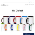 40% off Storewide on All Personalized Items (Mugs, Tshirts, Caps, Plates, Water Bottles and Pillow Cases) + Delivery @ NV Digita