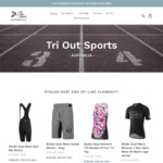 Overstock Sale: Swim & Cyclewear Reduced by 20 - 50% @ TRI OUT SPORTS