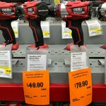 Ozito Power X Change Brushless Cordless Drill Driver (Skin Only) $49.90, Brushless Hammer Drill (Skin Only) $79.90 @ Bunnings