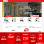 5% off Everything @ Security Wholesalers. Minimum spend $880