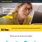 Free Transfers (Using Card or Bank Account) @ Western Union