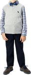 Andy & Evans Boy's 3pc Formal Set: Pants, Shirt, Vest and Bowtie (Red Grey or Blue Grey) $9.97 Shipped @ Costco (Members' Price)