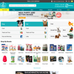 10% off (up to $15) Your Pet Food Order at Petcircle.com