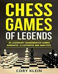 [eBook] Free - Chess Games of Legends: 20 Legendary Grandmaster Games | Chess Tactics Volume 1 & 2 @ Amazon AU/US