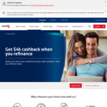 Up to $4,000 Cashback with Property Refinance (>$200k) @ Bank SA