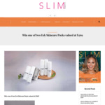 Win 1 of 2 Esk Skincare Packs Valued at $369 from Slim Magazine