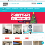 Click Frenzy with 20% off Store Wide, 15% off Plantation Shutters @ Blinds City