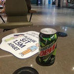 [NSW] Free Mountain Dew Cans @ Broadway Shopping Centre