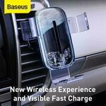 Baseus 15W Fast Wireless Charging Visible Air Vent Car Phone Holder  A$18.98 Delivered @ eSkybird