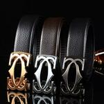 Men's Leather Belt US$6.12/ A$8.28 (Was US$21.00 / A$28.43) + US$5.99 / A$8.11 Post ($0 if US$25 / A$33.84+ Spend) @ Beltbuy