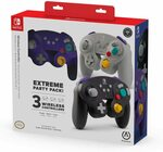 [Switch] PowerA GameCube Style Wireless Controller 3 Pack $105.06 + Delivery ($0 w/Prime) @ Amazon US via AU