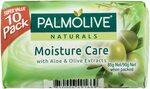 Palmolive Naturals Moisture Care Bar Soap Aloe & Olive 10x90g (Min 2) $3.49 ($3.14 S&S) + Delivery ($0 w Prime/$39) @ Amazon AU