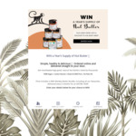 Win a Butter Bundle Worth $180 from 99th Monkey