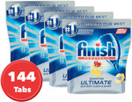4x 36pk Finish Powerball Quantum Ultimate Dishwashing Tabs $44.16 Delivered @ Sonalestore eBay
