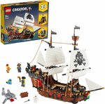 LEGO Creator 3in1 Pirate Ship 31109 Building Kit $119 Delivered ($159 RRP) @ Amazon AU
