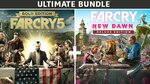 [PC] UPlay - Far Cry 5 Gold Edition + Far Cry New Dawn Deluxe Edition Bundle - $26.99 (was $179.95) - Fanatical