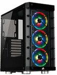 Corsair iCUE 465x RGB Mid-Tower ATX Case Black $109 + Shipping @ PC Case Gear