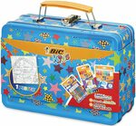 BIC Kids Colouring Activity Lunch Box 36pk + Poster + Case $19.25 (Was $35.00) + Delivery ($0 with Prime/ $39 Spend) @ Amazon AU