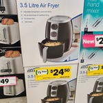 [VIC] 3.5L Mistral Air Fryer $24.50 (Was $49) in-Store @ Woolworths (Taylors Lakes)