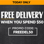 Free Standard Delivery with $50+ Online Spend (Today Only) @ First Choice Liquor