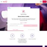 20 Bonus Status Credits on All Eligible Virgin Australia Domestic and Trans-Tasman Flights @ Virgin Australia