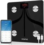 RENPHO USB Rechargeable Body Fat Scale with App $28.99 (Save $16) Delivered @ AC Green via Amazon AU