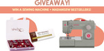 Win a Singer 4452 Sewing Machine & Sewing Notions worth US$200 from Madam Sew