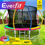 20% off Everfit 10FT Trampoline $311.96 ($304.16 with eBay Plus) + Delivery @ Ozplaza.living eBay