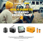 Win a Dometic Weekend Escape Pack Worth $2,955.90 from Dometic