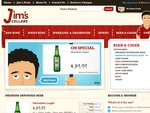 Jim's Cellars Super Deals on Fully Imported Beers: Australia-Wide Delivery ($5 Sydney Metro)