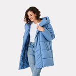 Women's Mid Length Puffer Jacket $8 (Was $40) + $3 C&C ($0 with $20 Order) /+ Delivery ($0 with $65 Order) @ Kmart