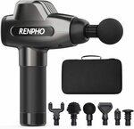 RENPHO Massage Gun, Muscle Massager $99.99@ Renpho Wellness AU Amazon AU