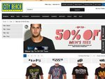 Up to 50% off Mens Tees and Womens Jackets - Billabong, Quiksilver, Fox, Mooloola, Rip Curl, Unit