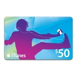 $50 Apple iTunes Card for $38 @ OW
