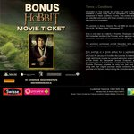 Free 'The Hobbit' Movie Ticket When Purchasing Any Swisse Product from Priceline ($6.74+)