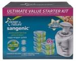 Sangenic Nappy Disposal Starter Kit (6 Refill Cassette + Nappy Bin) $45 + $5 Shipping