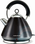 Morphy Richards Kettle - Black Only $49 RRP $199 Free Delivery